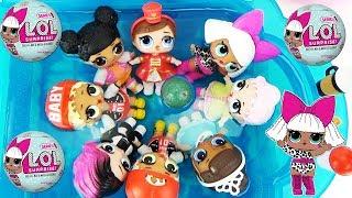 Ляльки ЛОЛ мріють Пригода в басейні Мультики з іграшками для дівчаток L. O. L. Surprise Baby Toys