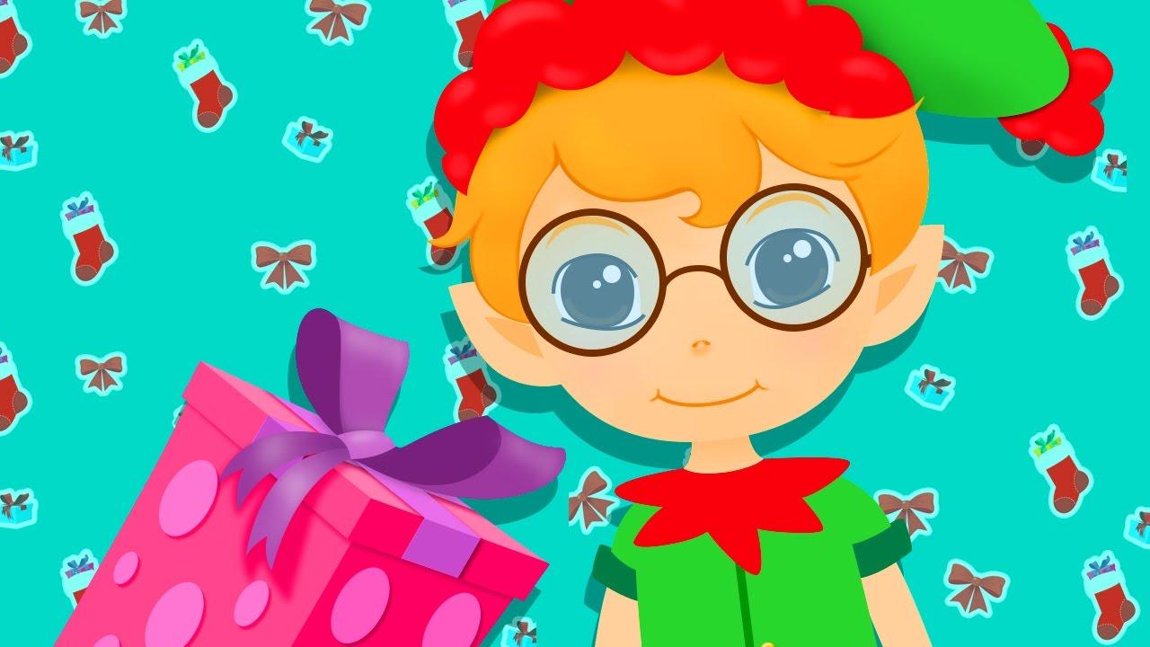 Deck The Halls | Christmas Songs with Action And Lyrics | KidsSongsClub Christmas Carols - YouTube