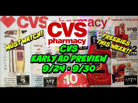 👀 EARLY PREVIEW👀   CVS AD PREVIEW FOR 9/24 - 9/30 | MUST WATCH!