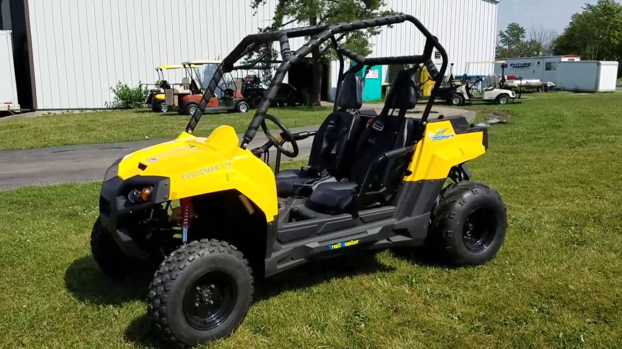 Challenger Version Utv Golf Cart With Black Wheels Utility Vehicle