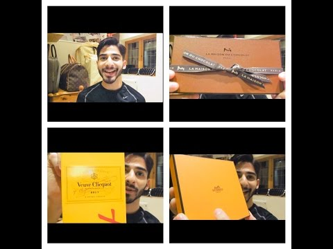 Luxury Gift Unboxings! Louis Vuitton, La Maison Du Chocolat & Veuve