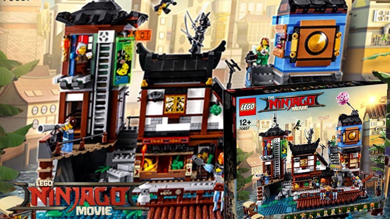 The Lego Ninjago Movie 70657 Ninjago City Docks Set Revealed