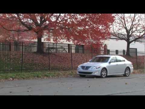2012 Hyundai Genesis Drive Time Review with Steve Hammes