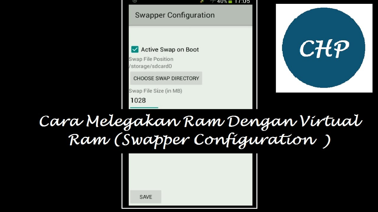 Cara Menambah RAM Android (100% berhasil) Dengan SWAPPER CONFIGURATION