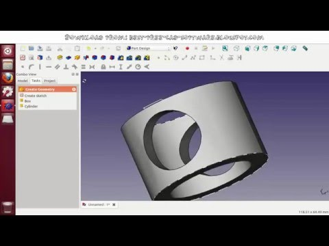 (NEW) Best Free Cad Software 2016 Tutorial with Download