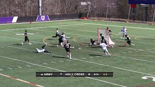 Play of the Week: AJ Barretto Game-Winning Save vs. Holy Cross 3-16-19