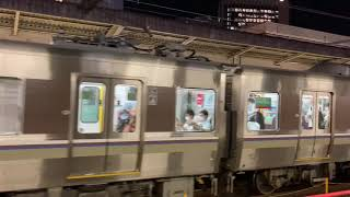 【JR西日本】223+225-100 快速 at 三ノ宮