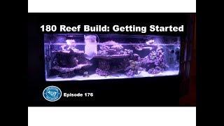 John's long-awaited 180 gallon reef build is underway. This aquariu...