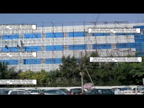 Dr  Ziauddin Hospital Clifton Facade Project