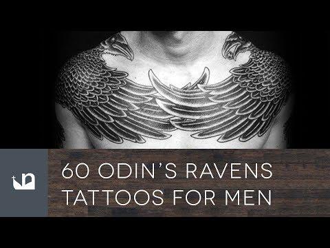 60 Odin S Ravens Tattoos For Men Youtube