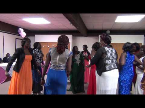 Nyagoa Tut and Koang Dhuordieng 2016  Bridalshower
