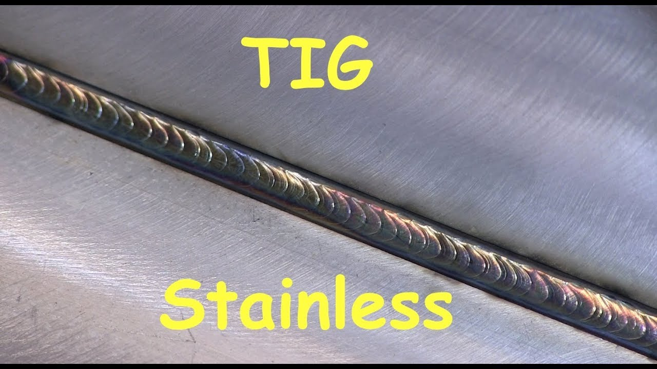 Tig welding stainless steel