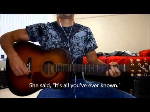 Im Already Gone By A Day To Remember Acoustic Guitar Cover Youtube