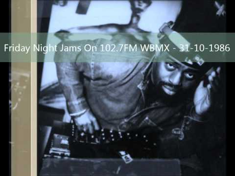 Frankie Knuckles - Friday Night Jams On 102.7FM WBMX - 31-10-1986