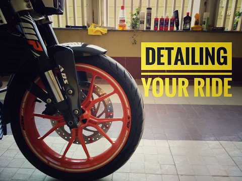 How to Clean & Polish your Ride| Detailing | KTM DUKE 390