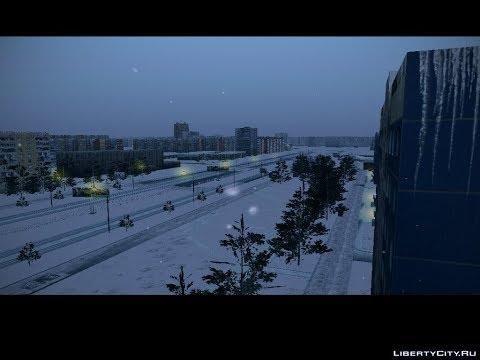 GTA Львов Район Психов Зима бета 3