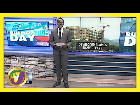 Building Contractor Blames Bank Delays   TVJ Business Day   Jamaica News