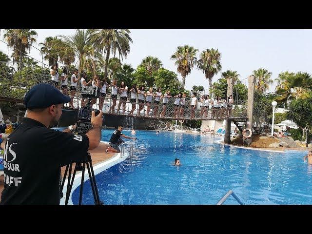 Miss Sur 2017 - visita HOTEL BEST TENERIFE