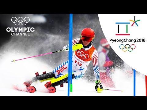 Mikaela Shiffrin's Alpine Skiing Highlights | PyeongChang 2018