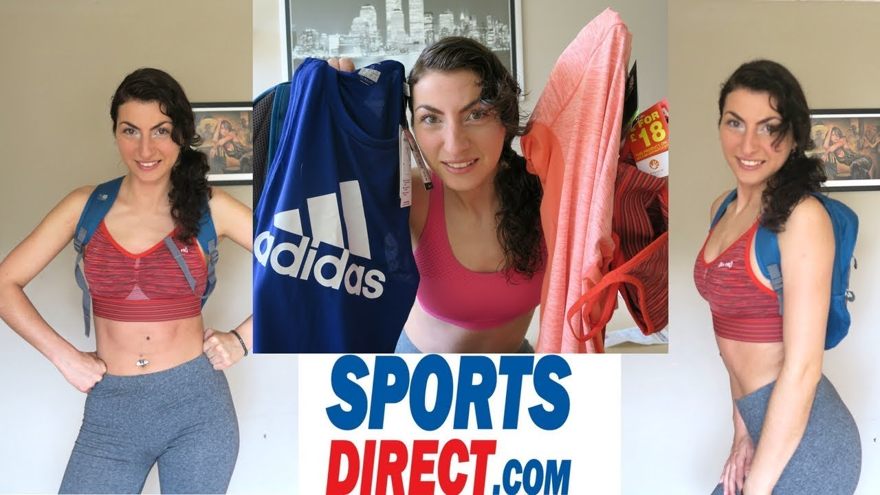 FITNESS HAUL & TRY ON // Sports Direct Big Brand Sale