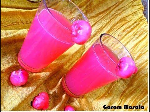 Chambakka Juice / Rose Apple Juice