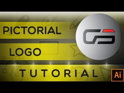 Pictorial Logo Design, Adobe Illustrator CC Tutorial [Urdu / Hindi]. thumbnail