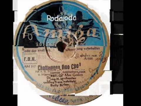 Chattanooga Choo Choo Teil  1+2   Horst Kudritzki mit Refrain