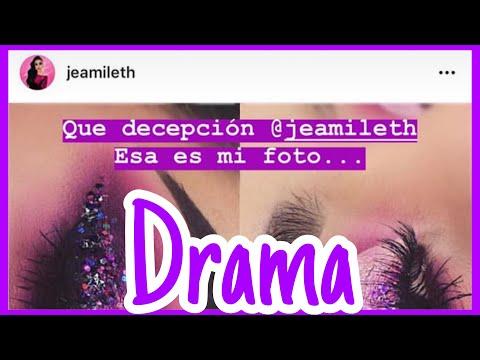 DRAMA POR MAQUILLAJE DE JEAMILETH DOLL / VER TODO EL VIDEO