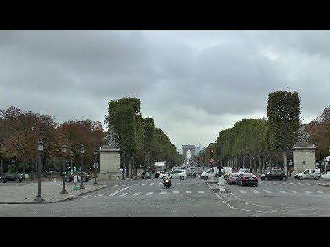 Paris France Place de la Concorde Champs Élysées