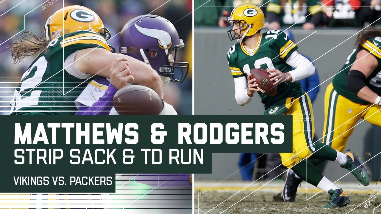 aaron rodgers jordy nelson clay matthews. clay matthews\u0027 strip sack leads to aaron rodgers\u0027 juking td run! | nfl week 16 highlights - youtube rodgers jordy nelson matthews v