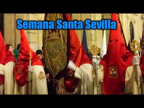 The Holy Week Procession, Semana Santa In Spain. Throwback
