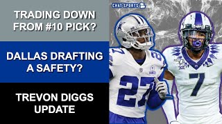 Cowboys Rumors: NFL Drąft Trade Back Into Round 1? Draft Targets At Safety? + Trevon Diggs News