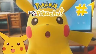 Pokemon Pikachu Let's Go Playthrough Part 1!
