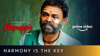 Narappa - Harmony Is The Key   Venkatesh, Priyamani, Rao Ramesh   Amazon Prime Video Image