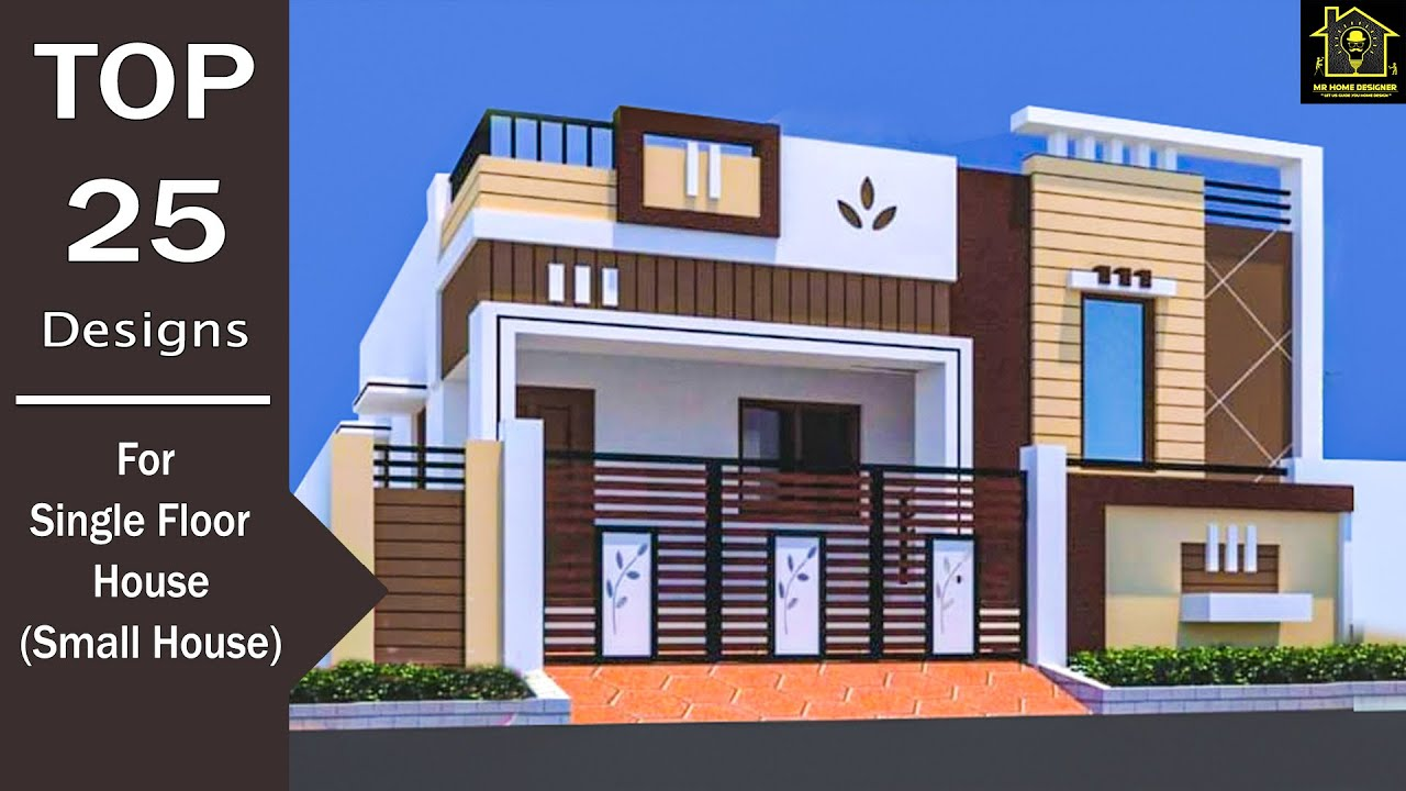 25 Best Small House Front Elevation Designs Ground Floor Elevation Designs Youtube