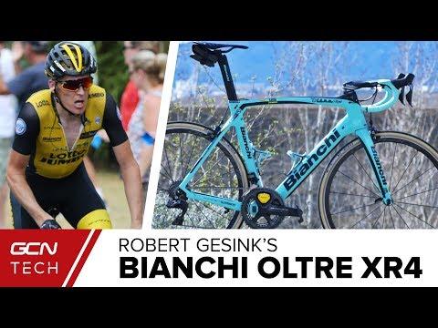 Robert Gesink's Bianchi Oltre XR4 Training Bike