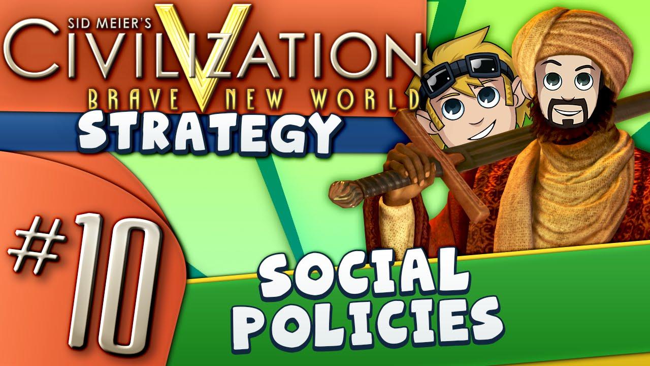 civ5 strategy guide 10 social policies youtube rh youtube com Civilization Vi Civilization III