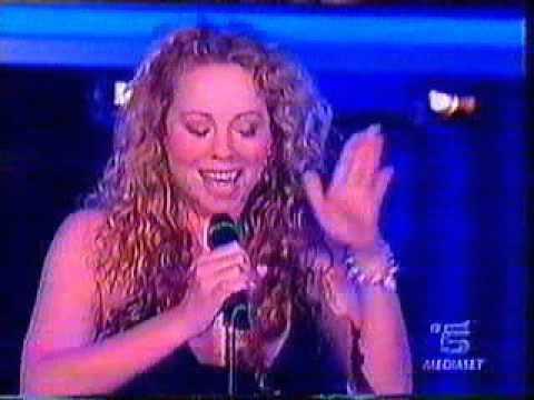Mariah Carey Through The Rain Live At C E Posta Per Te Youtube