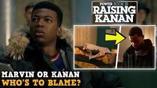 Power Book III: Raising Kanan 'IS MARVIN OR KANAN TO BLAME?' & Power Book 2 Easter Egg Explained