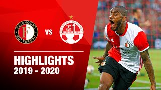 Highlights | Feyenoord - Hapoel Beer Sheva | 2019-2020