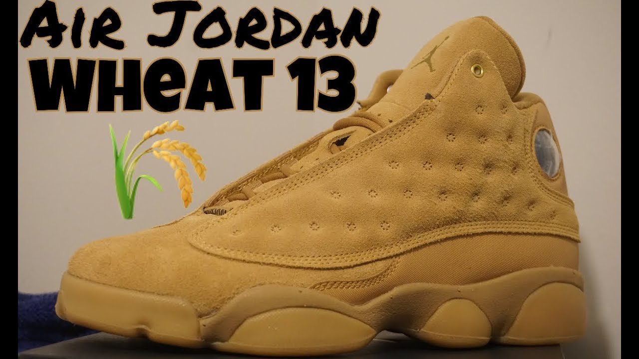 8e82729697d8 AIR JORDAN 13 WHEAT FIRST THOUGHT AND OPINION REVIEW - YouTube