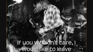Nirvana - Blew [With Lyrics on Video]