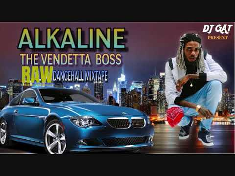 ALKALINE THE VENDETTA DON DANCEHALL MIX VOL 6 JULY 2018 [RAW VERSION] MIX BY DJ GAT 1876899-5643