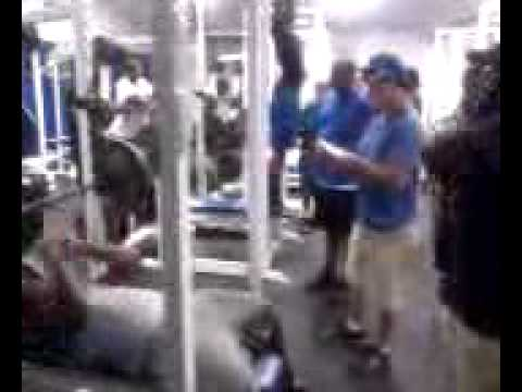 Courtney Sims of americus sumter benches 265