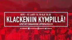 HIFK - FC Lahti: Klackeniin kympillä - Petri Pasasen viimeinen peli Stadissa