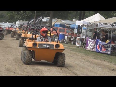 6x6 ATV Racing Ashtabula 2015 July
