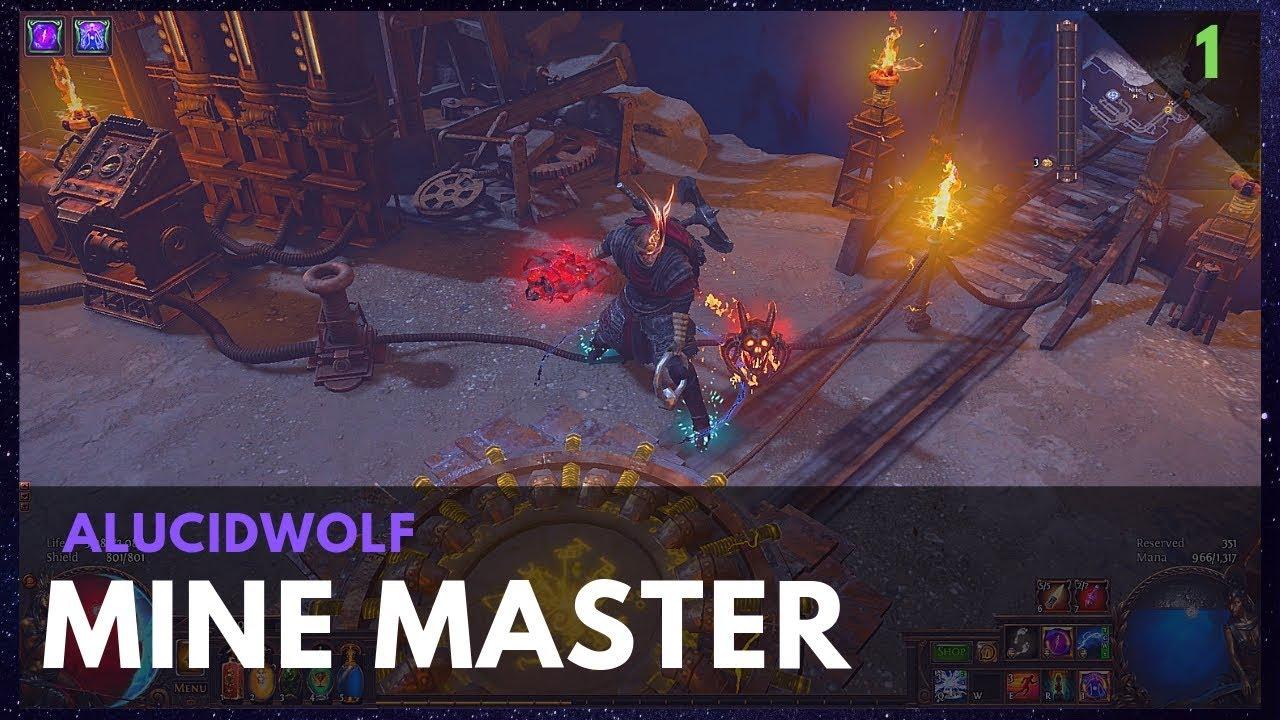 Path Of Exile Mine Master Recipe Farming Youtube