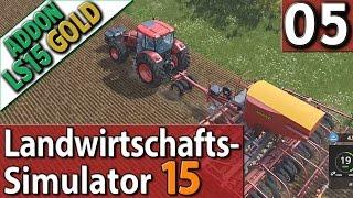 LS15 ADDON Landwirtschafts Simulator 15 GOLD #5 MASCHINENOPTIMIERUNG im PlayTest SPECIAL deutsch