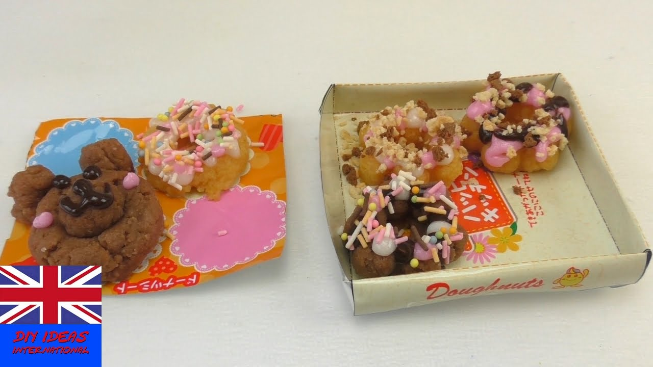 Littlest sweet shop: kracie popin' cookin' donuts-making kit.