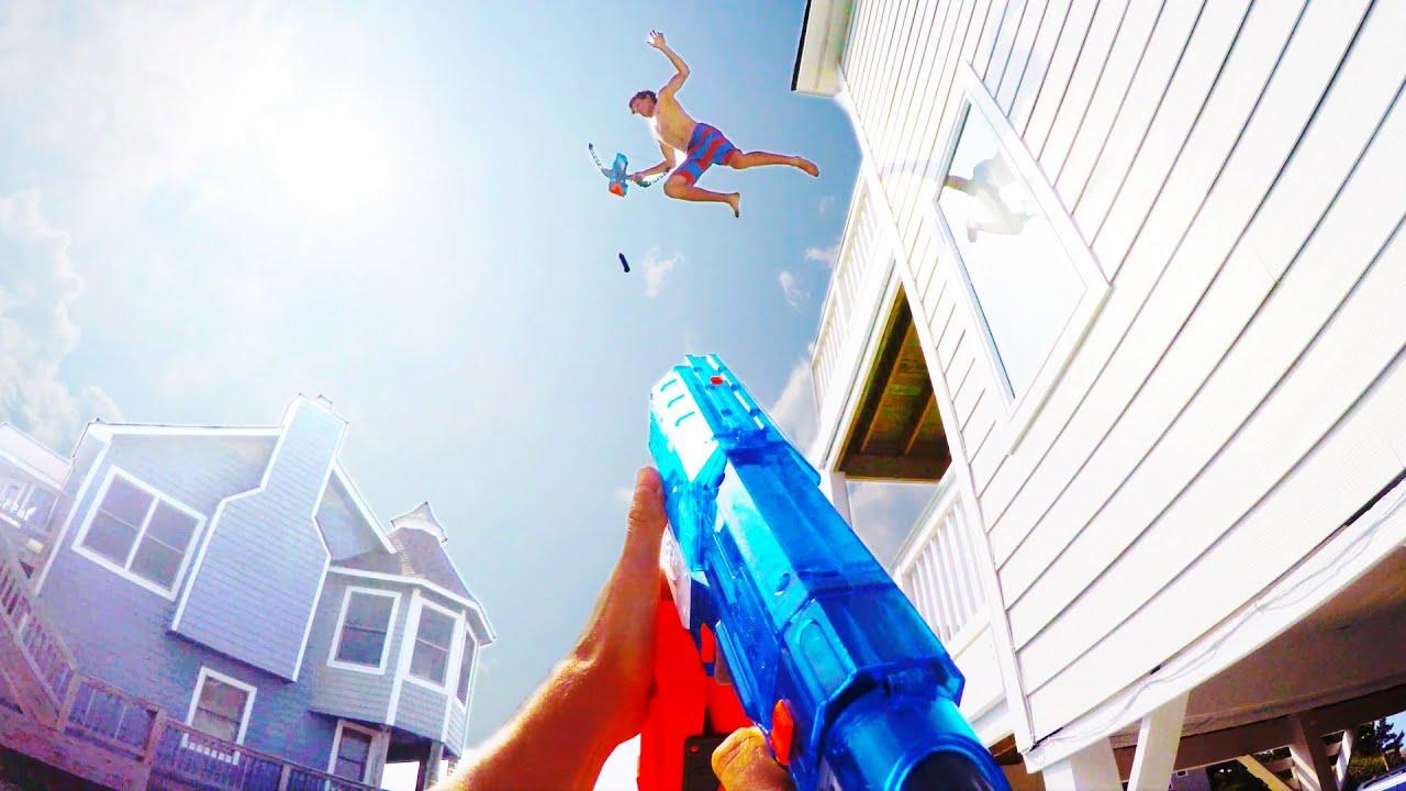 Speel gratis Nerf spelletjes online en schiet schuimkogels!